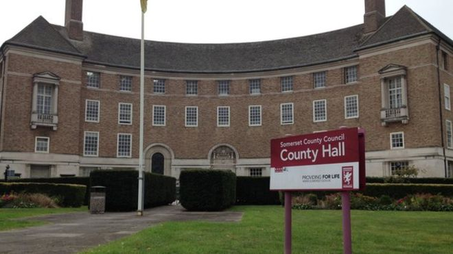 Somerset County Council, County Hall