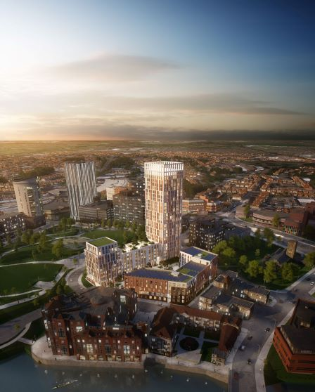 Castle Park View development